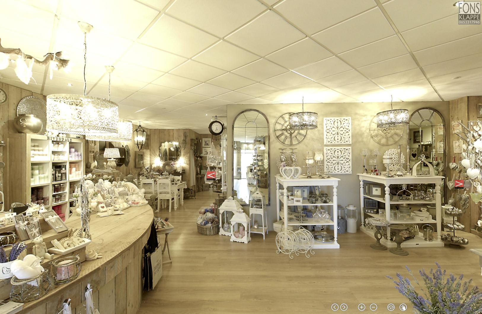 Winkel interieur 360 virtuele tour for Exterieur winkel